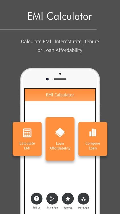 EMI Calculator & Loan Compare