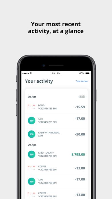 OCBC SG Mobile Banking screenshot two