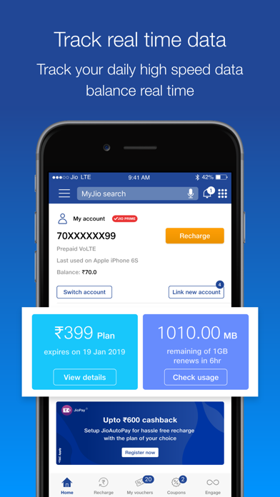 download MyJio- Recharge & Bill Payment