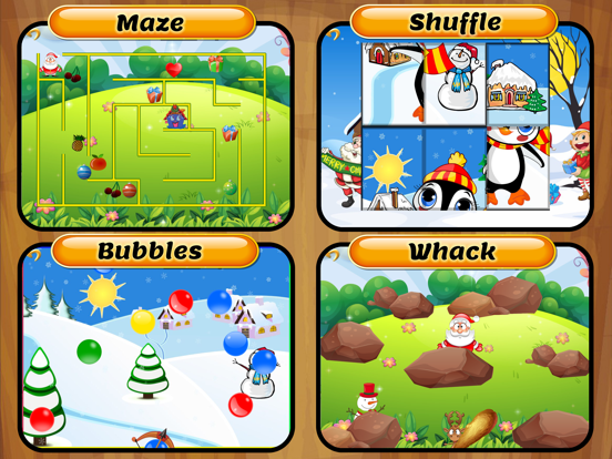 Christmas Toy Party Free - Play Puzzle, Maze, Dots Connect, Flow and Domino Games with Santa - Fun Learning Games for kids and toddler screenshot