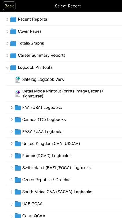 Safelog Pilot Logbook screenshot-5