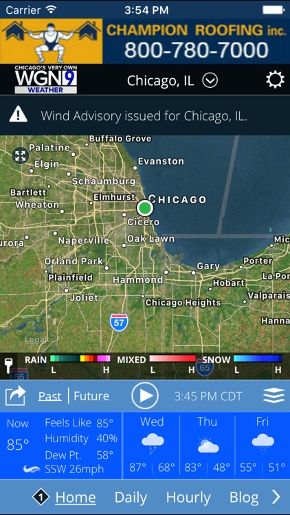 WGN-TV Chicago Weather