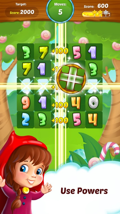 Connect 10 - Fun Math Puzzle screenshot-4