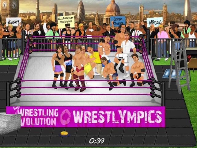 Wrestling Revolution HD on the App Store