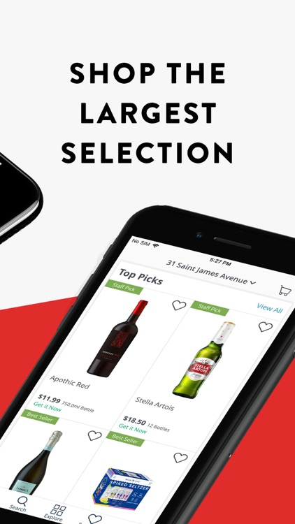 Drizly: Alcohol Delivery screenshot-2