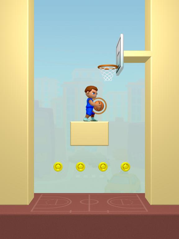 Doodle Dunk iPad app afbeelding 3