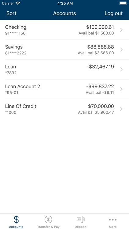 ESSA Mobile Banking screenshot-2