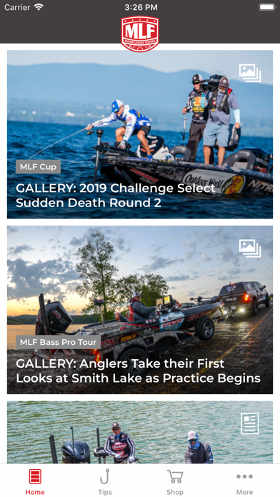 Screenshot for Major League Fishing in United States App Store