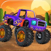 汽车游戏和超级跑车 怪物卡车超级赛车
