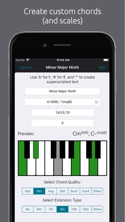 Tonality: Piano/Guitar Chords screenshot-7