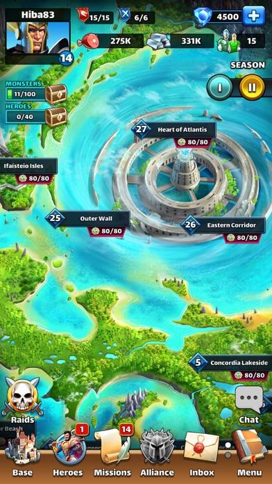 Empires & Puzzles Epic Match 3 Screenshot