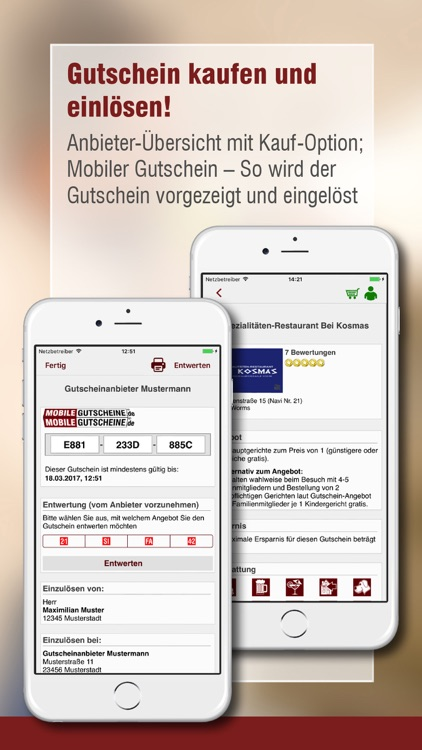 Mobile-Gutscheine.de screenshot-2