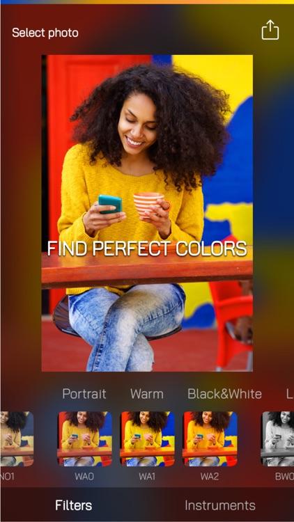 ColorCube: simple photo editor screenshot-3