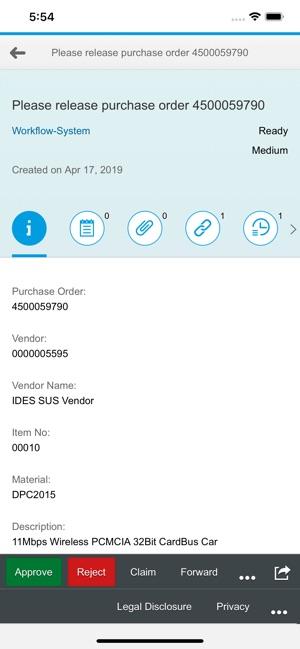 SAP Fiori Client on the App Store
