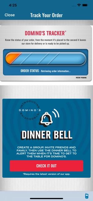 Current Dominos Logo Png