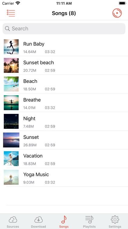 Cloud Music Player - Listener screenshot-4