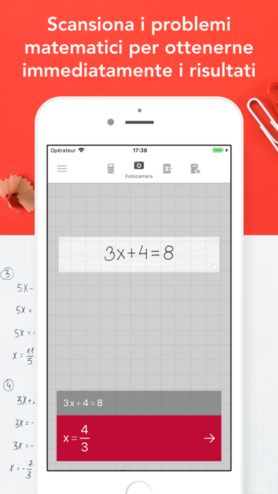 Screenshot for Photomath in Italy App Store