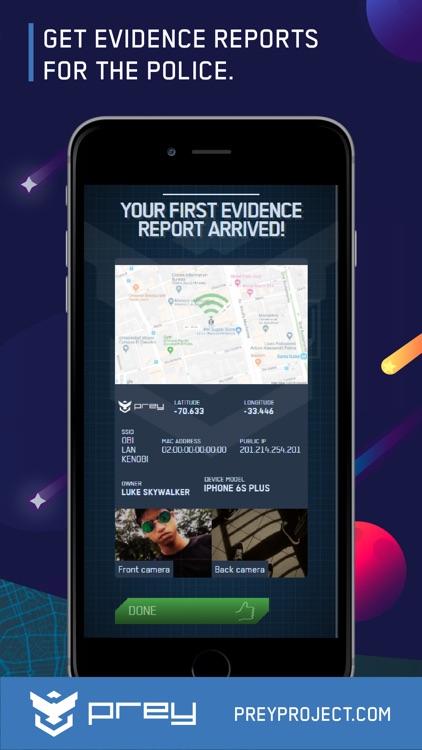 Prey Find my Phone Tracker GPS screenshot-4