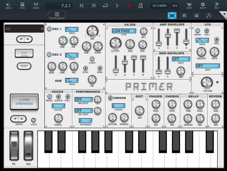 Primer synth screenshot-3