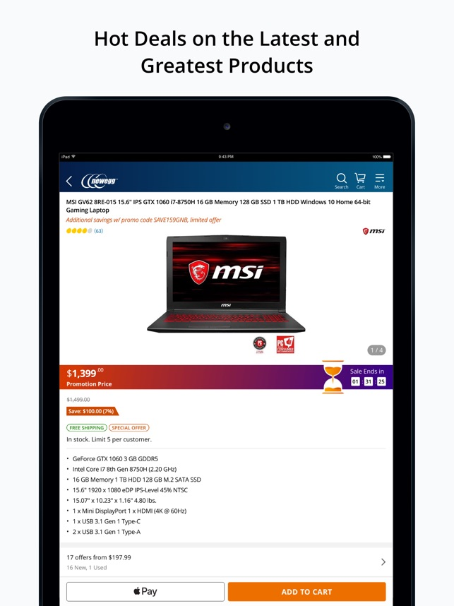 Newegg Mobile on the App Store