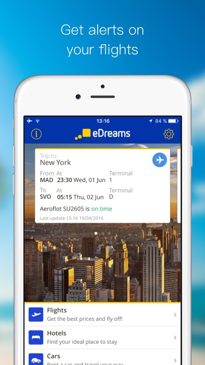 eDreams:Cheap Travel Deals