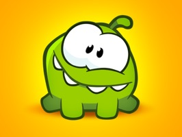 Official Cut the Rope stickers with OmNom are now available for iMessages