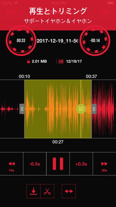 Recorder App: 録音のスクリーンショット2