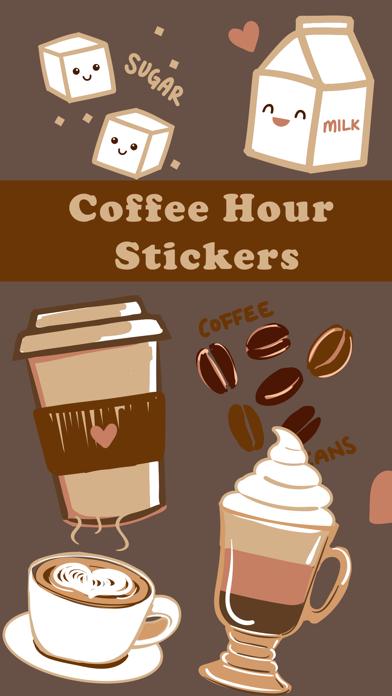 Coffee Hour Stickers screenshot 1