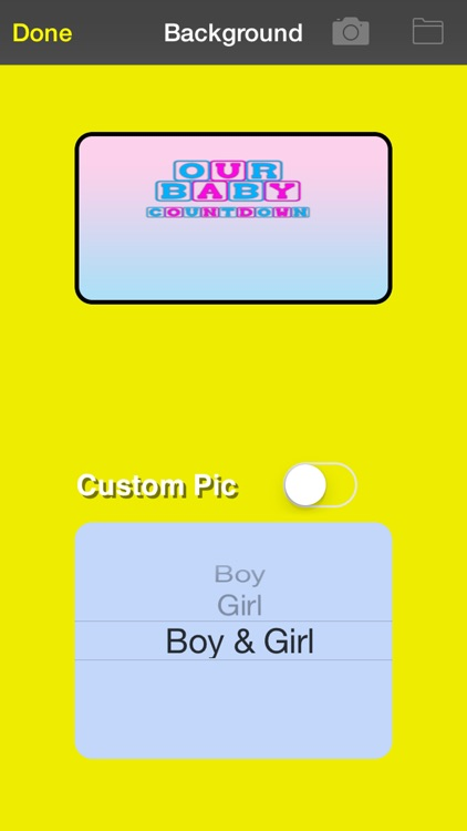 Our Baby Countdown screenshot-4