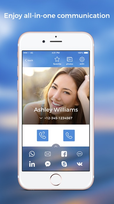 Eyecon Phone + Reverse LookupScreenshot of 2