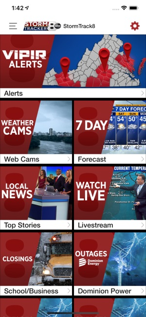 WRIC StormTracker 8 Weather on the App Store