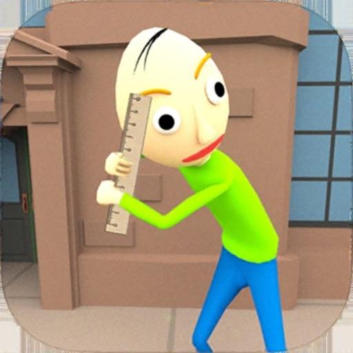Baldi Stickman Hero Crime City Icon
