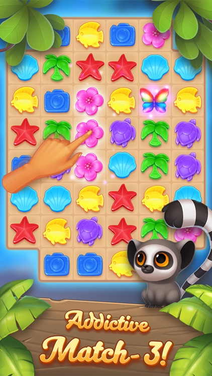 Puzzle Resort: Match-3 Game