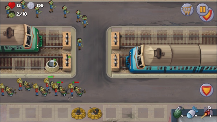Zombie Town Defense screenshot-4