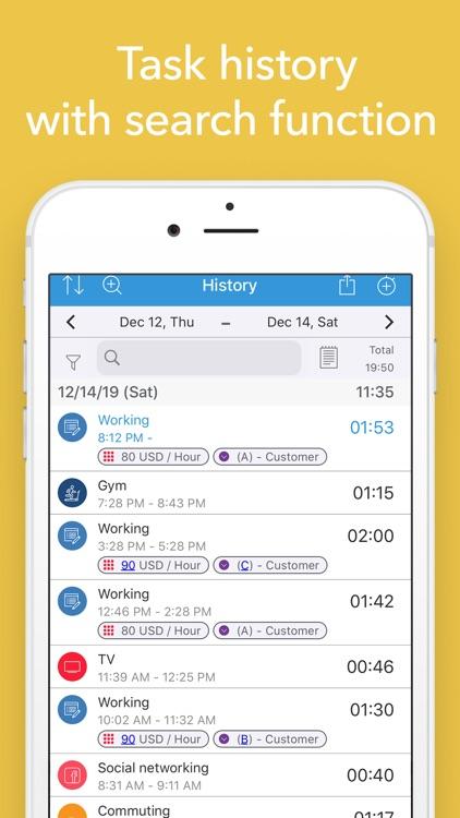ATracker Time Tracker screenshot-5