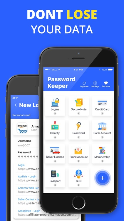 Password Vault: Lock the App screenshot-4