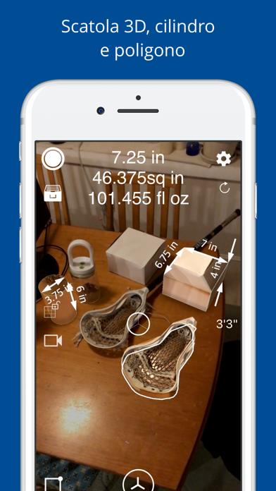 Screenshot of Misura 3D Pro - Righello AR2