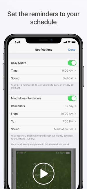 Chill – Mindfulness Reminders on the App Store