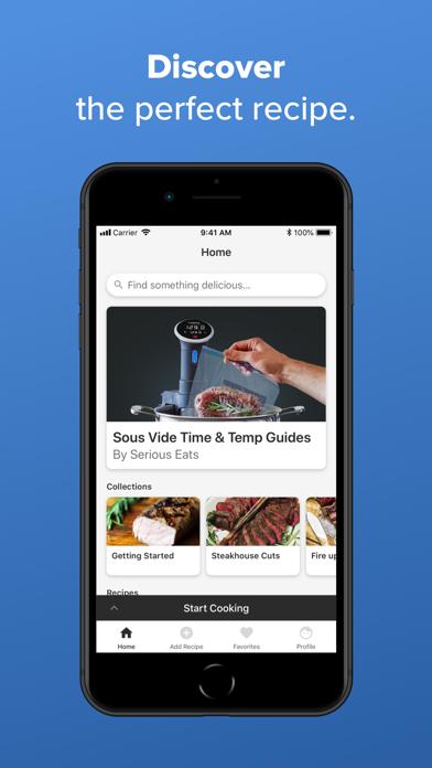Screenshot for Anova Culinary in Azerbaijan App Store