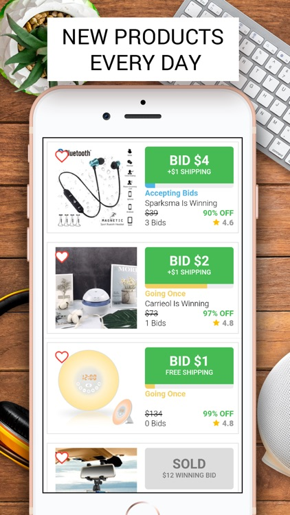Klever: Live Shopping Auctions screenshot-6