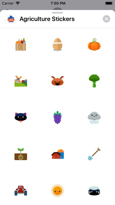 Agriculture Stickers app image