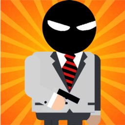 Mr Stickman Bullet Spy Game