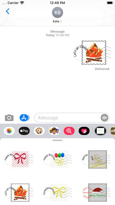 fun stamps screenshot 1