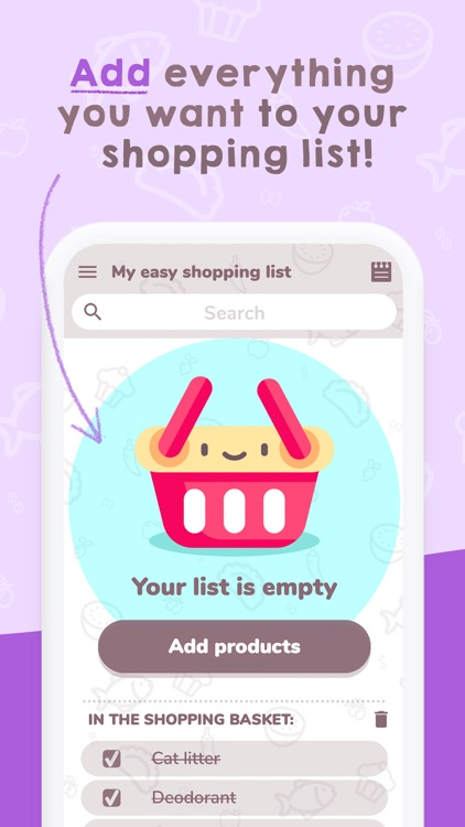 Easy Shopping List. screenshot-3