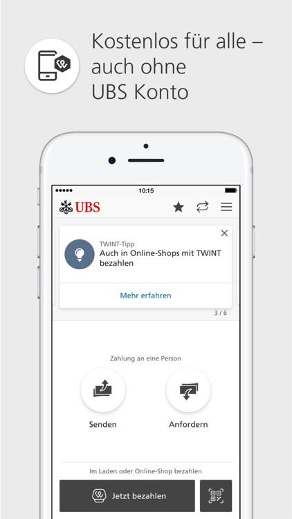 UBS TWINT: Mobile Payment App screenshot-0