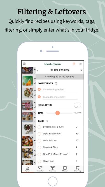 foodbymaria - Vegan Recipes screenshot-6