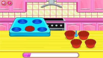 ألعاب الطبخ - اخبز كب كيكلقطة شاشة4