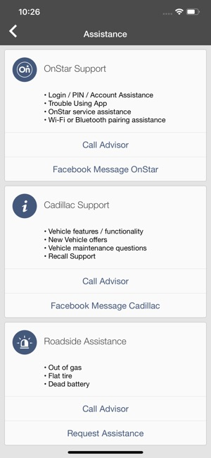 myCadillac on the App Store