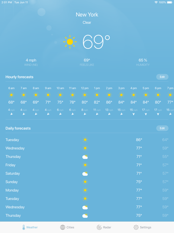 Weather · screenshot 11