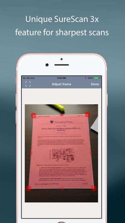 TurboScan™ Pro: PDF scanner screenshot-4
